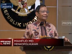Mahfud MD: Total Aset Hak Tagih BLBI Capai RP 110 Triliun