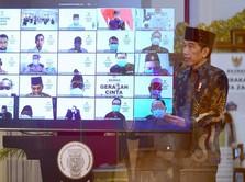 Intip Gaya Jokowi Hingga Sri Mulyani Tunaikan Zakat di Istana