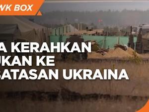 Siap Tempur, Rusia Kerahkan Pasukan ke Perbatasan Ukraina