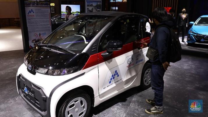 Toyota C+Pod. CNBC Indonesia/Andrean Kristianto