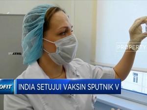 India Setujui Penggunaan Vaksin Sputnik V Buatan Rusia