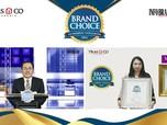 Miranda & Herborist Boyong 2 Penghargaan Brand Choice Award