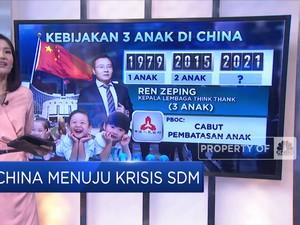China Menuju Krisis SDM