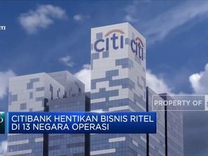 Citigroup Inc Hentikan Bisnis Ritel di 13 Negara Operasi