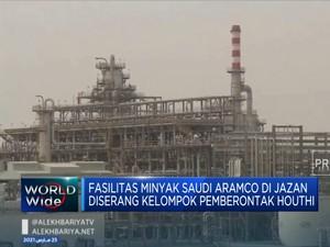 Fasilitas Minyak Aramco Diserang Kelompok Pemberontak Houthi