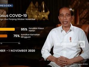 Ini Alasan Jokowi Larang Mudik Lebaran 2021