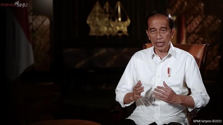 Penjelasan Presiden Joko Widodo terkait larangan mudik, 16 April 2021