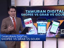 Tawuran Digital Shopee VS grab VS Gojek
