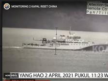 Pak Prabowo, Ada 2 Kapal China Terdeteksi di Selat Sunda Nih!