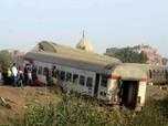 Kecelakaan Kereta Api di Mesir, 11 Tewas 100 Orang Terluka