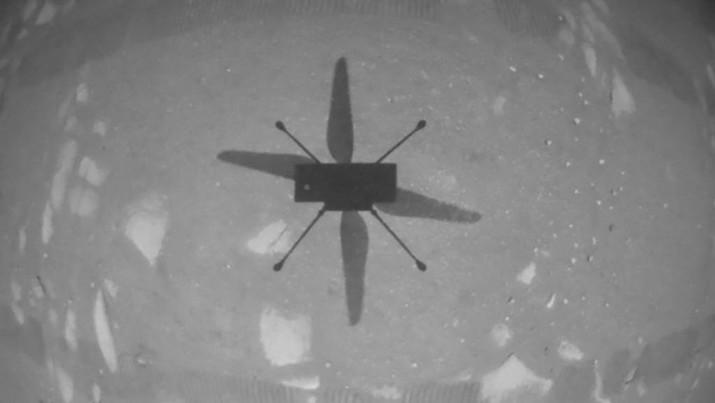 Helikopter NASA di Mars