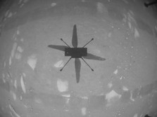 Hore! Helikopter Mini NASA Ingenuity Mengangkasa di Mars