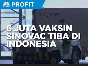 Lagi, Indonesia Kedatangan 6 Juta Bahan Baku Vaksin Sinovac