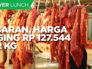 Lebaran, Harga Daging Diproyeksi Naik 7,1% Jadi Rp 127.544/Kg