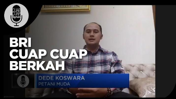 Raup Cuan Ala Petani Milenial Bersama BRI(CNBC Indonesia TV)