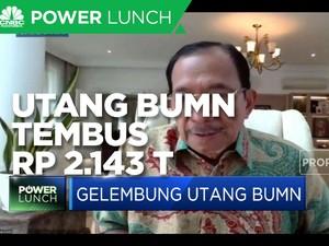 Tanri Abeng: Utang BUMN Rp 2.143 T Sudah Mengkhawatirkan