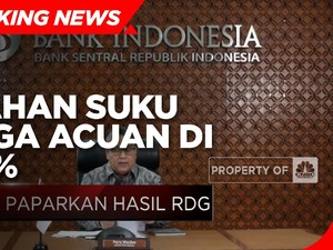 Bank Indonesia Tahan Suku Bunga Acuan di 3,50%