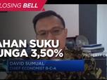 Ekonomi Belum Pulih Sepenuhnya, BI Tahan Suku Bunga 3,50%