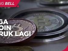 Harga Bitcoin Ambruk Hari ini