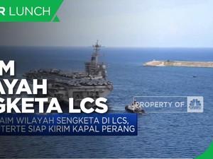 Klaim Wilayah Sengketa LCS, Duterte Siap Kirim Kapal Perang