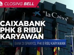 Caixabank PHK 8 Ribu Karyawan