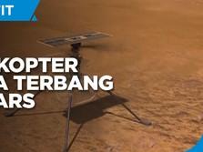Cetak Sejarah, NASA Berhasil Terbangkan Helikopter di Mars