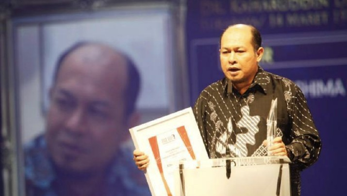 Direktur Utama PT PAL Indonesia (Persero) Kaharuddin Djenod Daeng Manyambeang (sumber: GNFI)