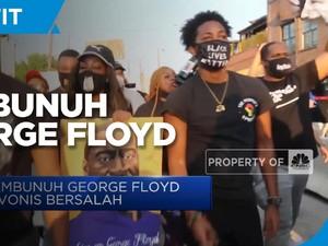 Pembunuh George Floyd Terancam Hukuman 40 Tahun