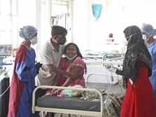 Sedihnya India: Tsunami Covid-19 Datang, Rumah Sakit Terbakar