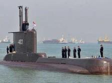 Kapal Selam KRI 402 Hilang Kontak, Ditemukan Tumpahan Minyak!