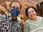 Di Tengah Isu Reshuffle Kabinet, Nadiem Temui Megawati
