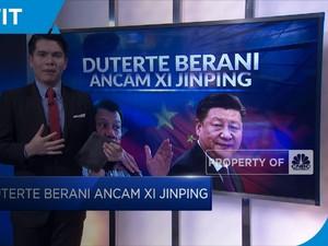 Soal Laut China Selatan, Duterte Berani Ancam Xi Jinping