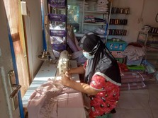 Cerita Perempuan RI Kenalkan Mukena Bukit ke Negeri Jiran