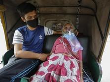 Malapetaka India: Kena Tsunami Corona, Tabung Oksigen Langka