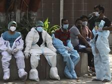 Bencana Covid-19 India: Tabung Oksigen Menipis, Kuburan Penuh