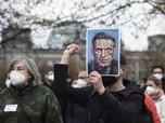 Rusia Rusuh, Ribuan Massa Demo Tuntut 'Musuh' Putin Bebas