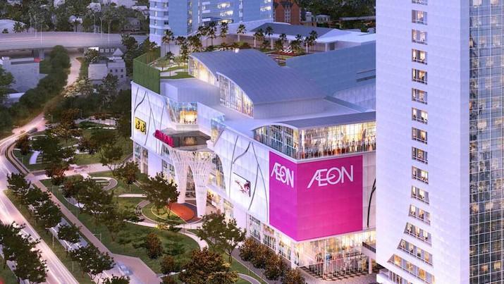 Desain Aeon Mall Tanjung Barat (Southgate Prime Tower)