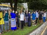 Panic Buying di Supermarket-Pom Bensin Myanmar, Ada Apa?