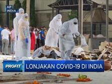 Rumah Sakit Penuh, India Keteteran Hadapi Lonjakan Covid-19
