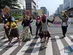 Hari Bumi Dunia, Para Pemuda Kritisi Iklim dengan Berjoget