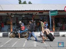 Larangan Mudik Dipercepat, Begini Kondisi Terminal Bus di DKI