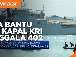 Angkatan Laut India Bantu Indonesia Cari KRI Nanggala-402