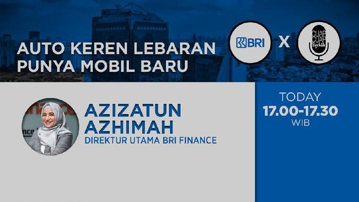 Direktur Utama BRI Finance, Azizatun Azhimah
