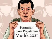 Mulai 22 April Diperketat, Ini Syarat Bisa Mudik Lebaran 2021