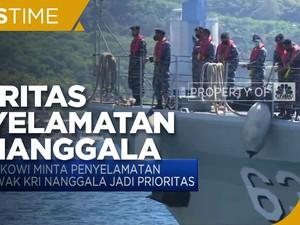 Jokowi Minta Penyelamatan Awak KRI Nanggala Jadi Prioritas