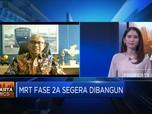 MRT Jakarta Targetkan Penumpang 65 Ribu/hari di Akhir 2021