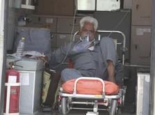 Merananya India: Covid Meledak, Oksigen Tipis & RS Terbakar