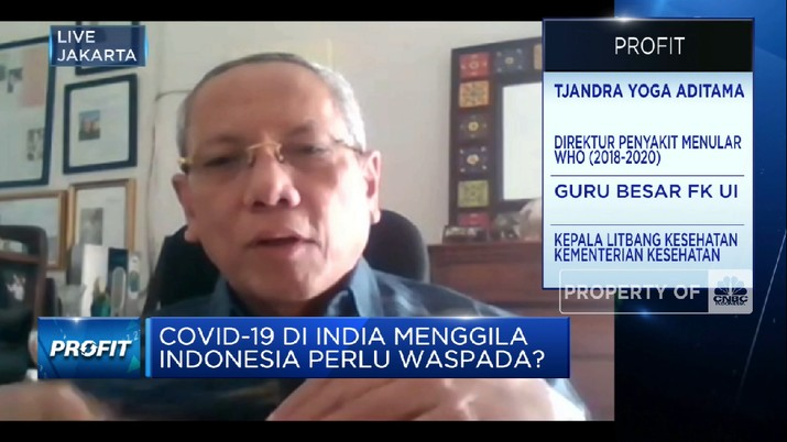 Tjandra Yoga: Ada 5 Penyebab Kasus Covid-19 India Melonjak (CNBC Indonesia TV)
