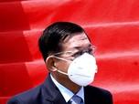 Potret Pemimpin Kudeta Militer Myanmar Mendarat di Jakarta