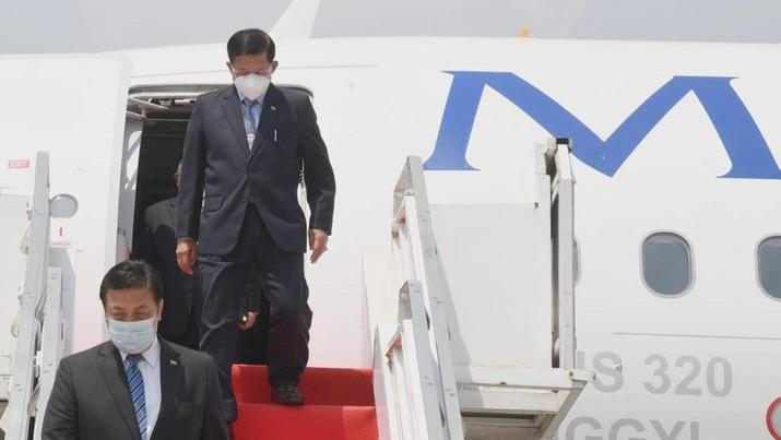 Panglima Militer Myanmar Jenderal Min Aung Hlaing akan hadir pada ASEAN Leaders' Meeting yang digelar pada Sabtu, 24 April 2021, di Jakarta. (Dok:Biro Pers Sekretariat Presiden)